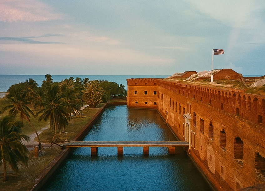 photo of Fort Jefferson, Dry Tortugas, Florida