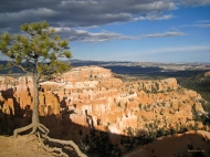 photo of Bryce Canyon at sunset taken from Sun Set Point, Bryce Canyon National Park