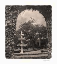 photo of garden at Cummer museum, Jacksonville, FL