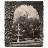 photo of garden at Cummer museum, Jacksonville, FL