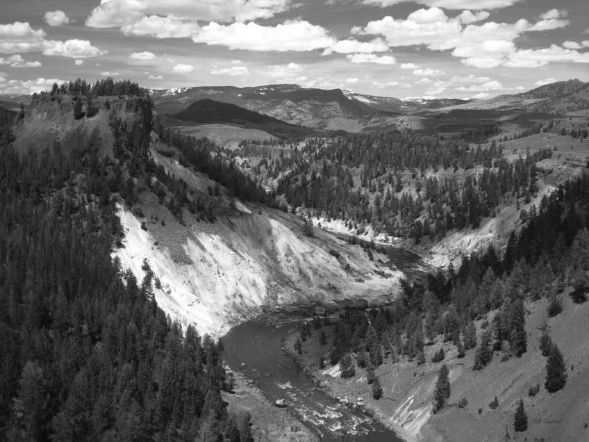 photo of Yellowstone River, Yellowstone National Park