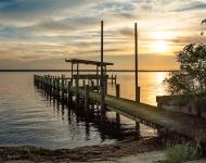 Lake Crescent Sunrise #175