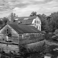 photo of abandon mill near Rough River, Kentucky
