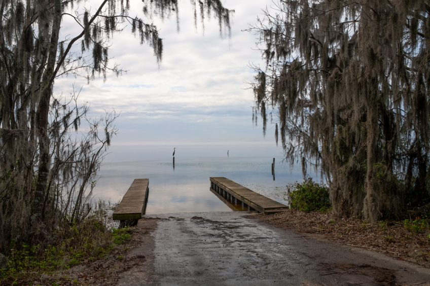 photo of Shell Bluff boat ramp Flagler County, Florida