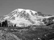 photo of Mt Rainier, Mt Rainier National Park
