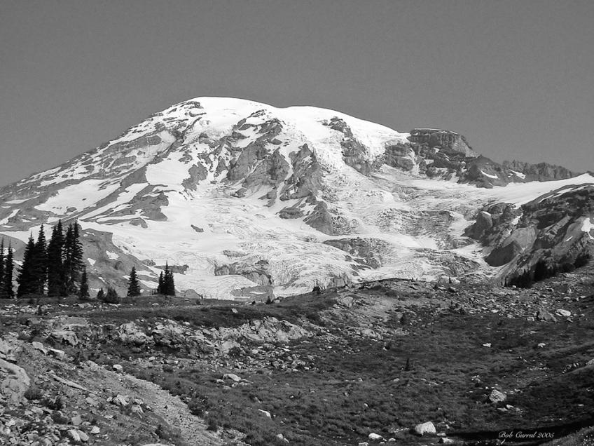 photo of Mt Rainier, Mt Rainier National Park