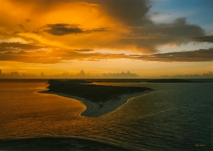 photo of Sunrise taken from Fort Jefferson National Monument, Dry Tortuga
