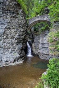 photo of Entrance to Watkins Glenn State Park, New York