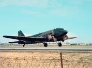 "photo of C-47 ""Gooney Bird"" taken at Chu Lai RVN 1966"