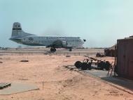 photo of C-124 at Chu Lai RVN 1966