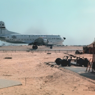 photo of C-124 at Chu Lai RVN 1966