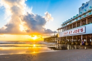 Photo of Daytona Beach Pier at Sunrise