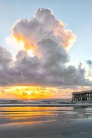 photo of Daytona Beach Sunrise and Pier