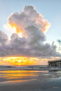 photo of Daytona Beach Sunrise and Pier