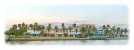 Panoramic photo of Beach Steet in Daytona Beach, FL